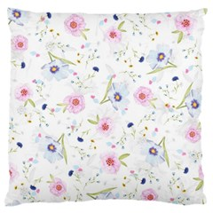 Floral Pattern Background Standard Flano Cushion Case (one Side) by BangZart