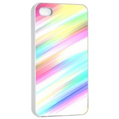 Background Course Abstract Pattern Apple Iphone 4/4s Seamless Case (white)