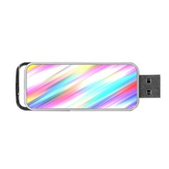 Background Course Abstract Pattern Portable Usb Flash (one Side) by BangZart