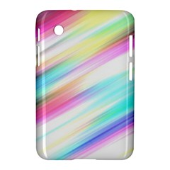Background Course Abstract Pattern Samsung Galaxy Tab 2 (7 ) P3100 Hardshell Case  by BangZart