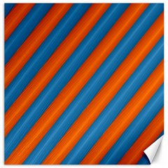 Diagonal Stripes Striped Lines Canvas 12  X 12