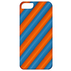 Diagonal Stripes Striped Lines Apple Iphone 5 Classic Hardshell Case