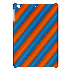Diagonal Stripes Striped Lines Apple Ipad Mini Hardshell Case by BangZart