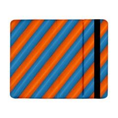 Diagonal Stripes Striped Lines Samsung Galaxy Tab Pro 8 4  Flip Case