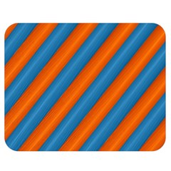 Diagonal Stripes Striped Lines Double Sided Flano Blanket (medium)