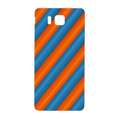 Diagonal Stripes Striped Lines Samsung Galaxy Alpha Hardshell Back Case