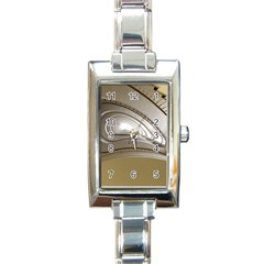 Staircase Berlin Architecture Rectangle Italian Charm Watch