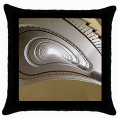 Staircase Berlin Architecture Throw Pillow Case (black)