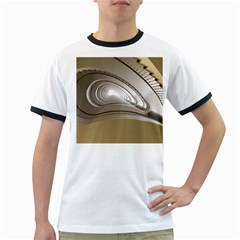 Staircase Berlin Architecture Ringer T Shirts