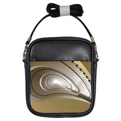 Staircase Berlin Architecture Girls Sling Bags