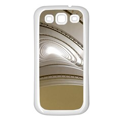 Staircase Berlin Architecture Samsung Galaxy S3 Back Case (white)
