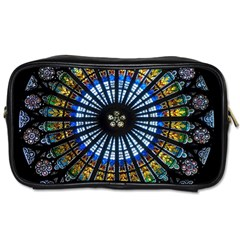 Rose Window Strasbourg Cathedral Toiletries Bags