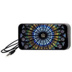 Rose Window Strasbourg Cathedral Portable Speaker