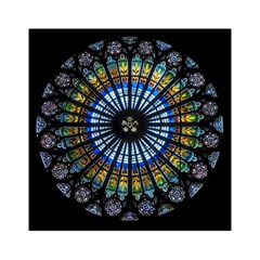 Rose Window Strasbourg Cathedral Acrylic Tangram Puzzle (6  X 6 )
