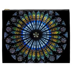 Rose Window Strasbourg Cathedral Cosmetic Bag (xxxl)