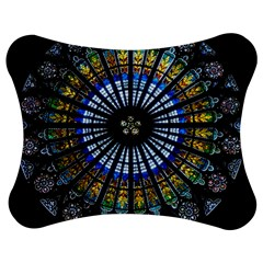 Rose Window Strasbourg Cathedral Jigsaw Puzzle Photo Stand (bow) by BangZart