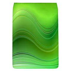 Green Wave Background Abstract Flap Covers (s)