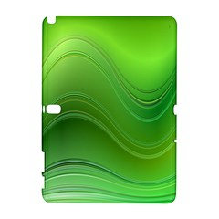 Green Wave Background Abstract Galaxy Note 1