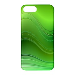 Green Wave Background Abstract Apple Iphone 7 Plus Hardshell Case