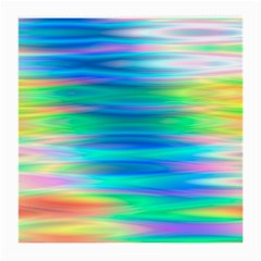 Wave Rainbow Bright Texture Medium Glasses Cloth (2 Side)