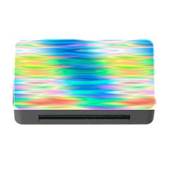 Wave Rainbow Bright Texture Memory Card Reader With Cf