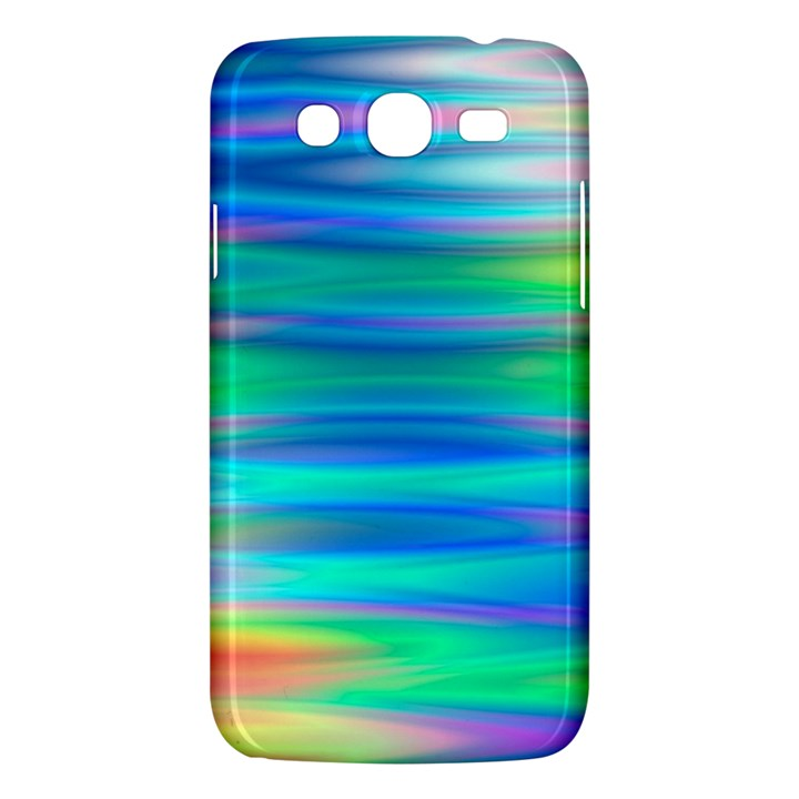 Wave Rainbow Bright Texture Samsung Galaxy Mega 5.8 I9152 Hardshell Case