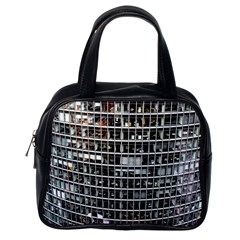 Skyscraper Glass Facade Offices Classic Handbags (one Side)