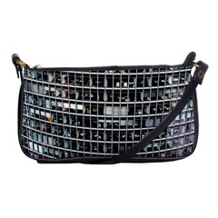 Skyscraper Glass Facade Offices Shoulder Clutch Bags by BangZart
