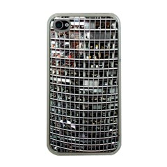 Skyscraper Glass Facade Offices Apple Iphone 4 Case (clear)