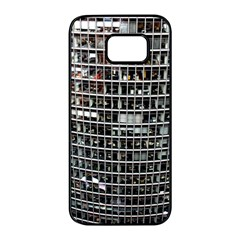 Skyscraper Glass Facade Offices Samsung Galaxy S7 Edge Black Seamless Case