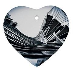 Architecture Modern Skyscraper Ornament (heart)