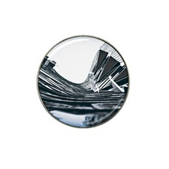 Architecture Modern Skyscraper Hat Clip Ball Marker (4 Pack)