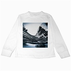 Architecture Modern Skyscraper Kids Long Sleeve T Shirts