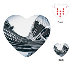 Architecture Modern Skyscraper Playing Cards (heart)