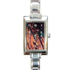 Abstract Wallpaper Images Rectangle Italian Charm Watch