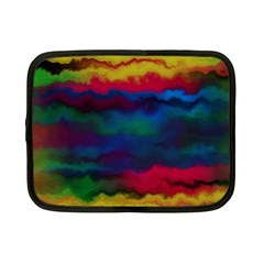 Watercolour Color Background Netbook Case (small)