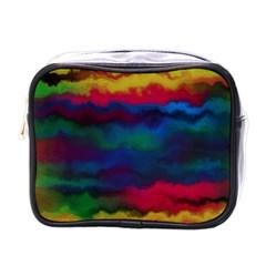 Watercolour Color Background Mini Toiletries Bags
