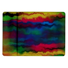 Watercolour Color Background Samsung Galaxy Tab 10 1  P7500 Flip Case
