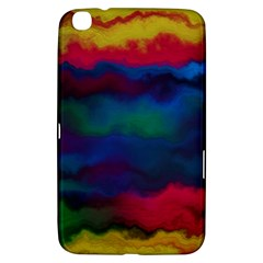 Watercolour Color Background Samsung Galaxy Tab 3 (8 ) T3100 Hardshell Case