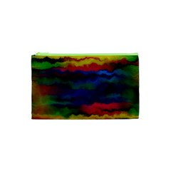 Watercolour Color Background Cosmetic Bag (xs)