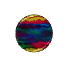Watercolour Color Background Hat Clip Ball Marker by BangZart
