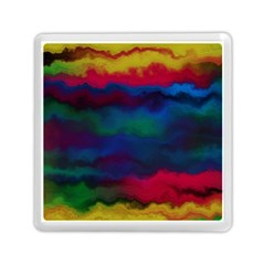Watercolour Color Background Memory Card Reader (square)