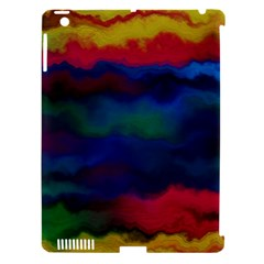 Watercolour Color Background Apple Ipad 3/4 Hardshell Case (compatible With Smart Cover)