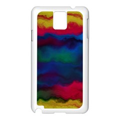 Watercolour Color Background Samsung Galaxy Note 3 N9005 Case (white)