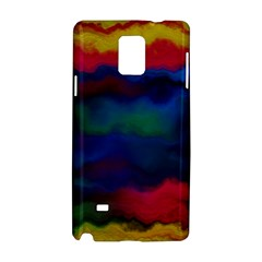 Watercolour Color Background Samsung Galaxy Note 4 Hardshell Case
