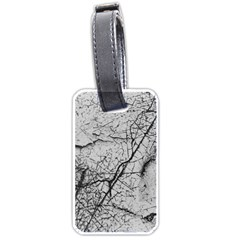 Abstract Background Texture Grey Luggage Tags (two Sides)