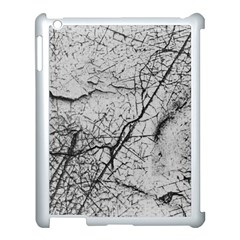 Abstract Background Texture Grey Apple Ipad 3/4 Case (white)