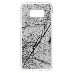 Abstract Background Texture Grey Samsung Galaxy S8 Plus White Seamless Case
