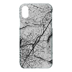 Abstract Background Texture Grey Apple Iphone X Hardshell Case