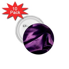 Shiny Purple Silk Royalty 1 75  Buttons (10 Pack)